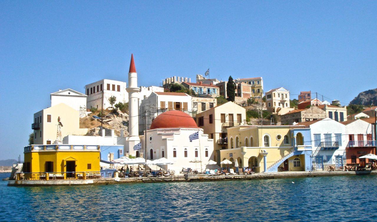 ギリシャの島_メイス島