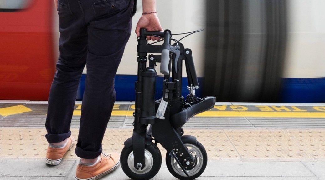 自転車の 折りたたみ自転車 電車 : 小型「折りたたみ式電動自転車 ...