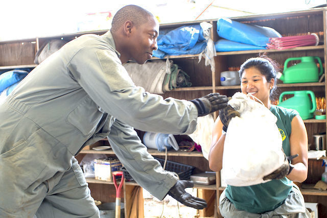 Airmen flood support at Kanuma