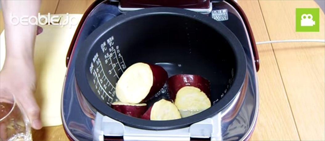 FireShot Capture 800 - 簡単!炊飯器クッキング~焼き芋編~【ビエボ】 I 炊飯器レシピ - YouTube_ - https___www.youtube.com_watch4_R