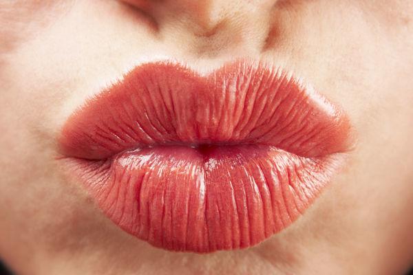Pouting lips