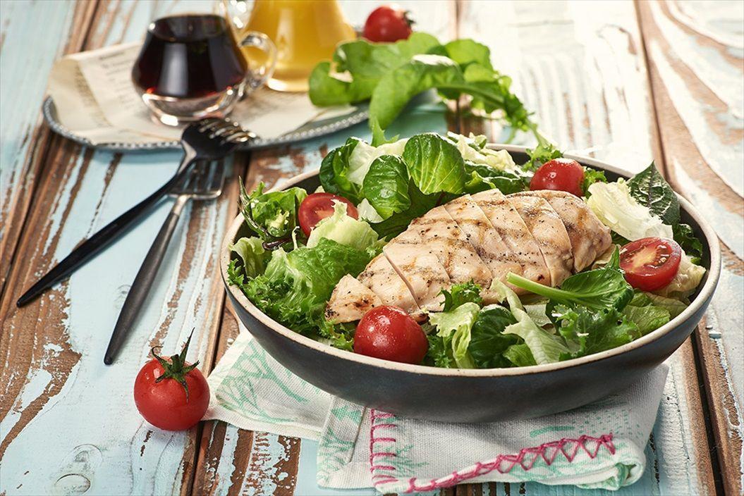 グリルチキンと彩野菜のサラダ_R