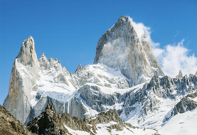 Mount Fitz Roy, Los Glaciares National Park, Patagonia, Argentin