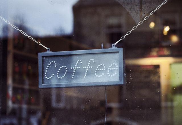 Caffetteria bar sign