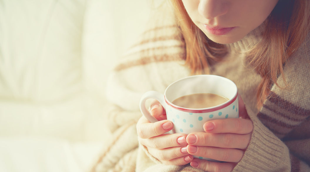 She orchestrates her mornings to the tune of coffee