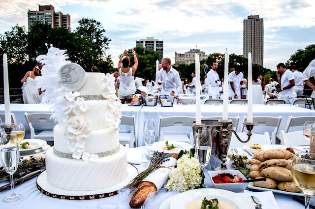 Diner en Blanc 2014 Chicago photo Ronald Leon Hale HD04 のコピー