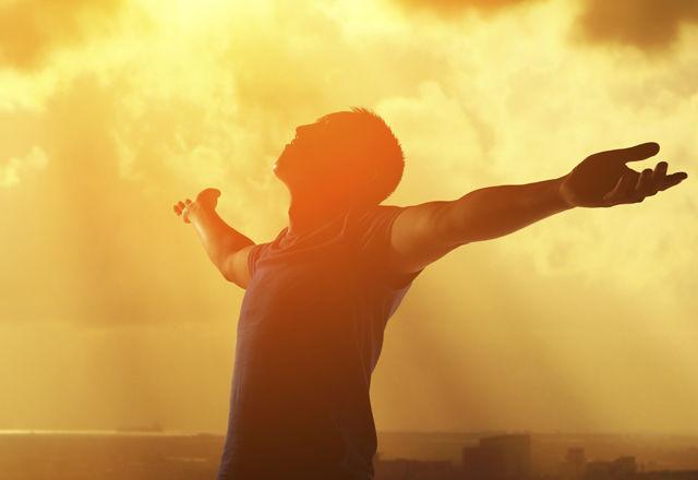 Pray and worship and free