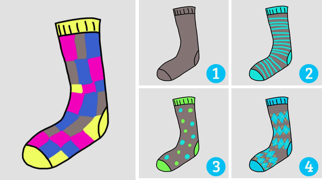 「8種類の靴下」で性格診断!アナタはどれを選ぶ?