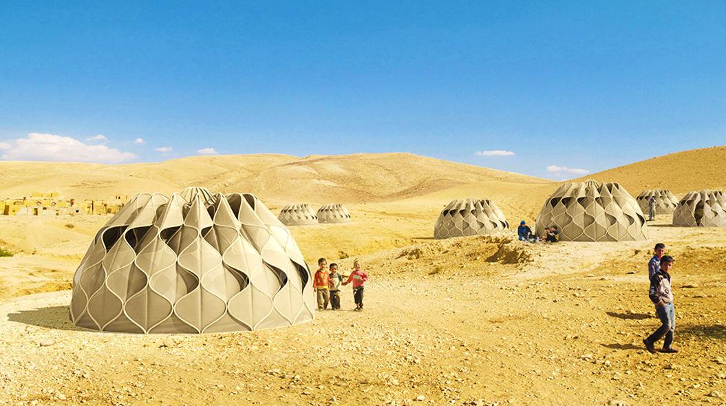 建築家が本気で考えた「難民用テント」。驚きの機能とは?