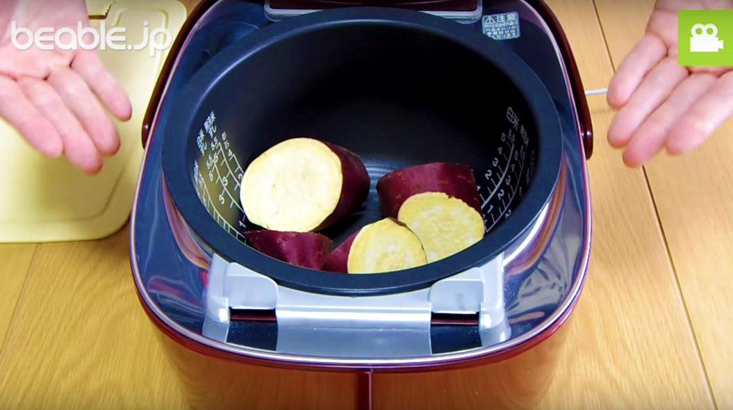 炊飯器でつくる「焼かない焼き芋」が激ウマらしい・・・(動画あり)