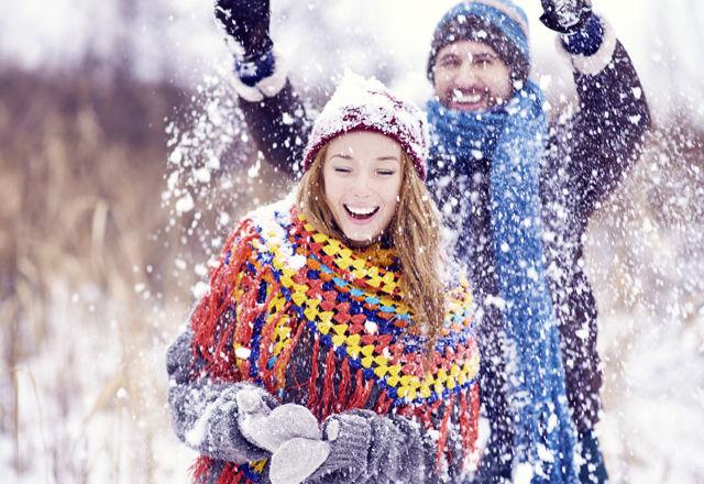 Snowy joy