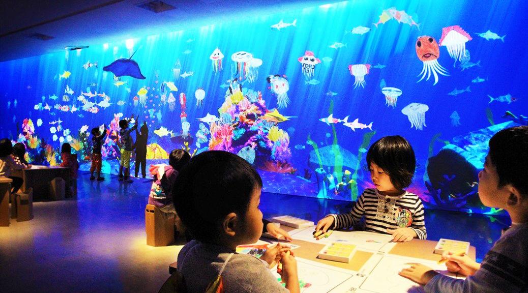 じぶんが描いた、魚の絵が泳ぎ出す「お絵かき水族館」って知ってる?(動画あり)