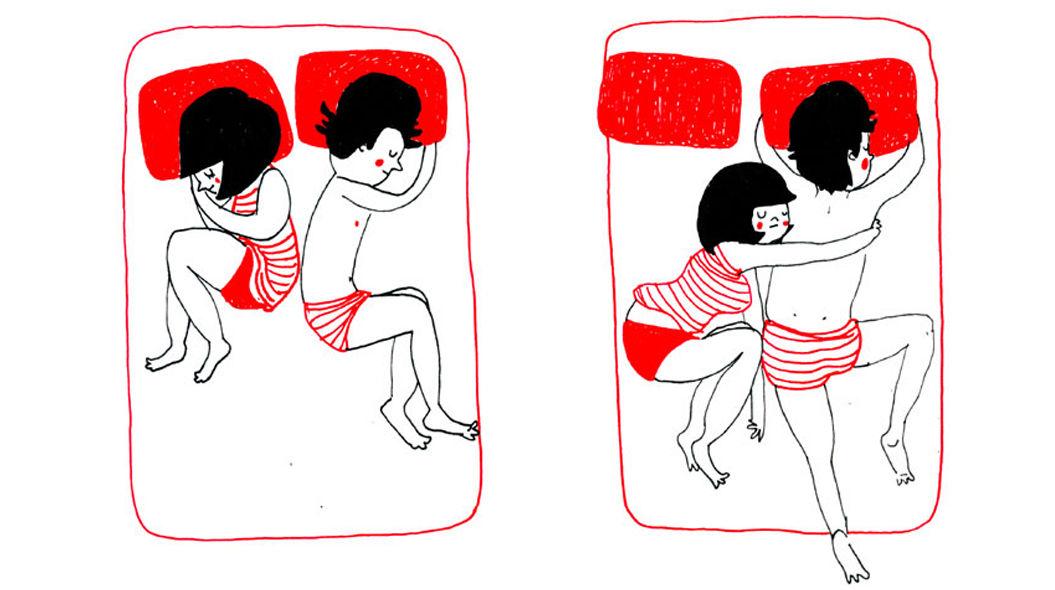 ちょっとした行動に表れるカップルの愛イラスト16枚 Tabi Labo