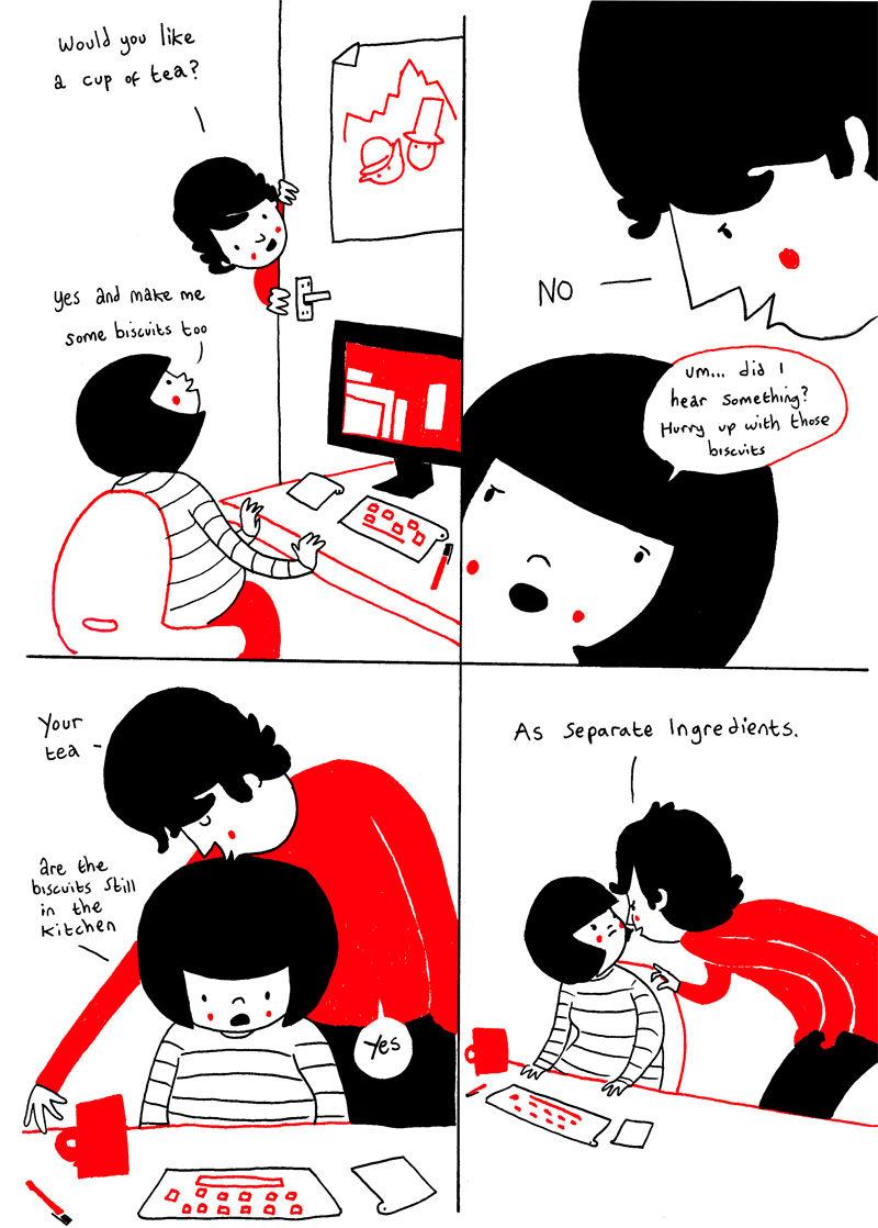 ちょっとした行動に表れる「カップルの愛」(イラスト16枚) | tabi labo