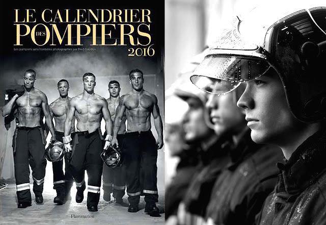 le calendrier des pompiers 2016 photo fred goudon