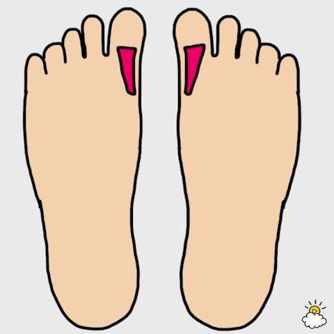 肩こりや首筋のこりが酷い時には、足裏のツボを思い出して。もみほぐすことで、痛みや不安を緩和することができるかもしれません。