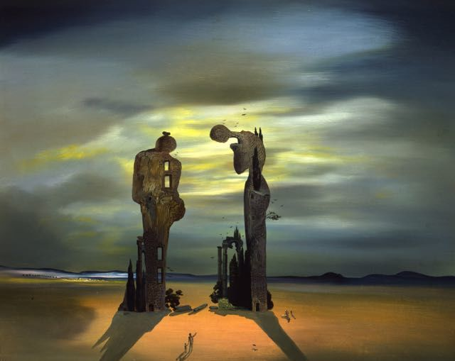 Salvador Dali, Archeological Reminiscence of Millet's Angelus, 1933-35